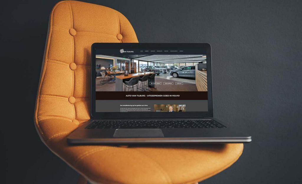 Nieuwe website Auto van Tilburg Volvo
