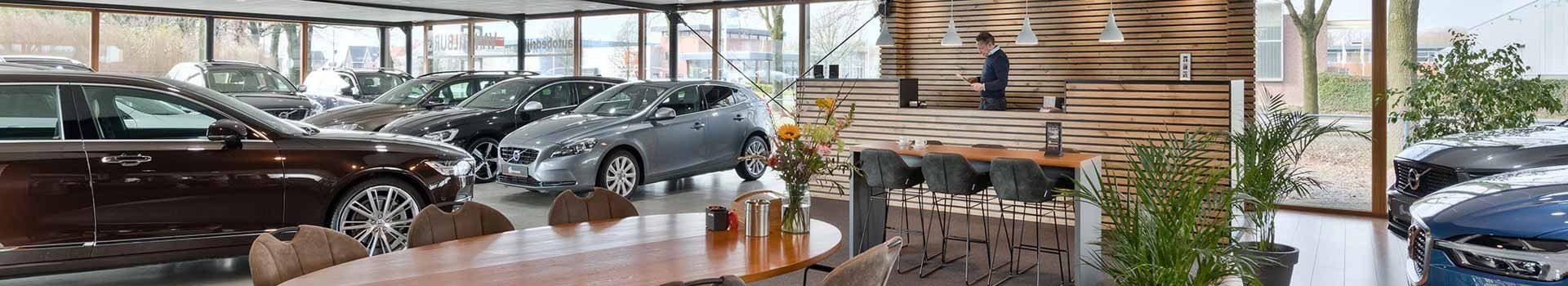 Showroom Auto van Tilburg