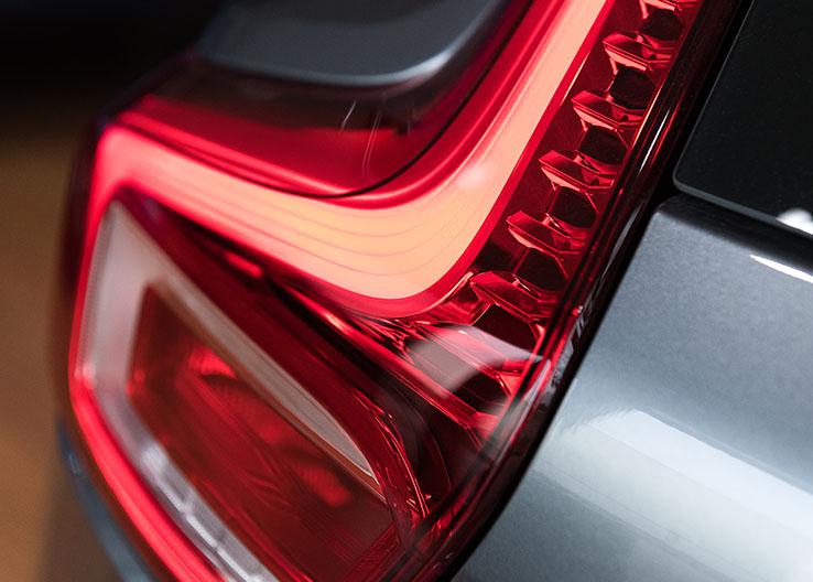 Typerend achterlicht Volvo