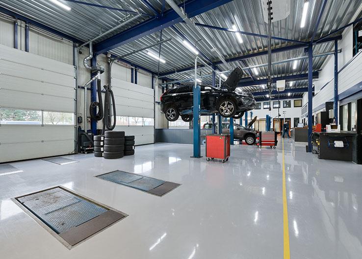 Autogarage Deurne Werkplaats